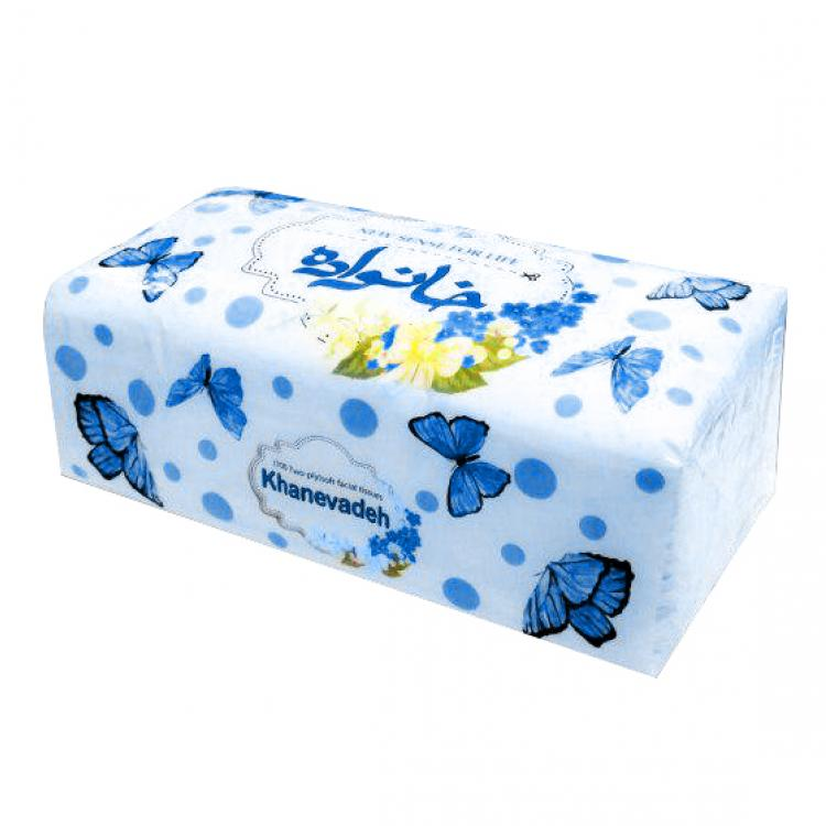 Khanevadeh 200 Economical Facial Tissue - Shina Design